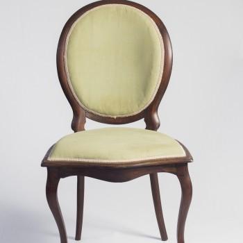 Cadeira Medalhão Verde - Código CMV01